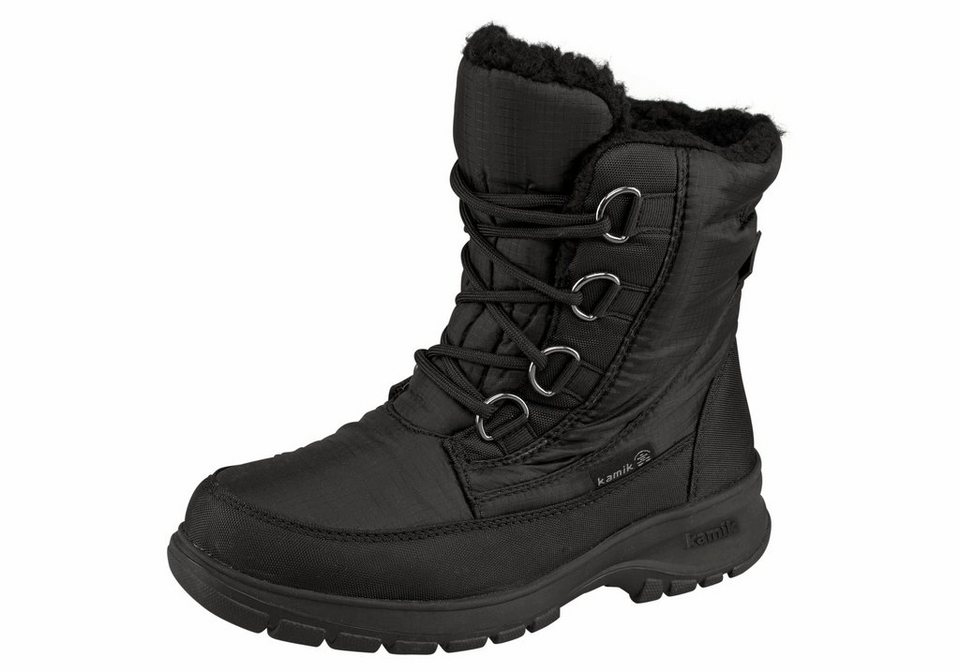 Kamik »Baltimore« Outdoorwinterstiefel in schwarz