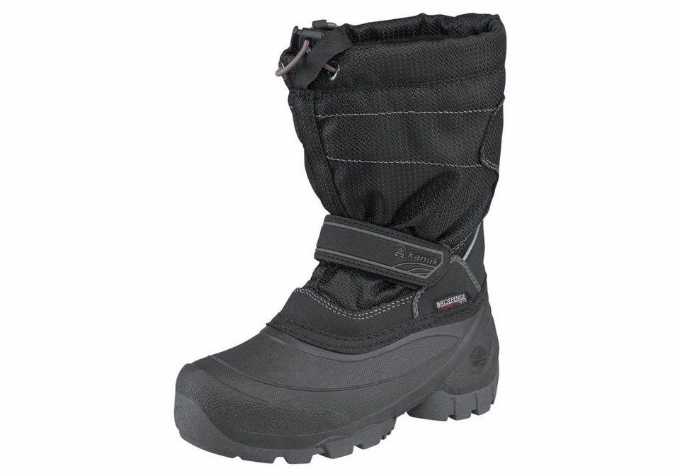 Kamik »Snowcoast« Outdoorwinterstiefel in schwarz
