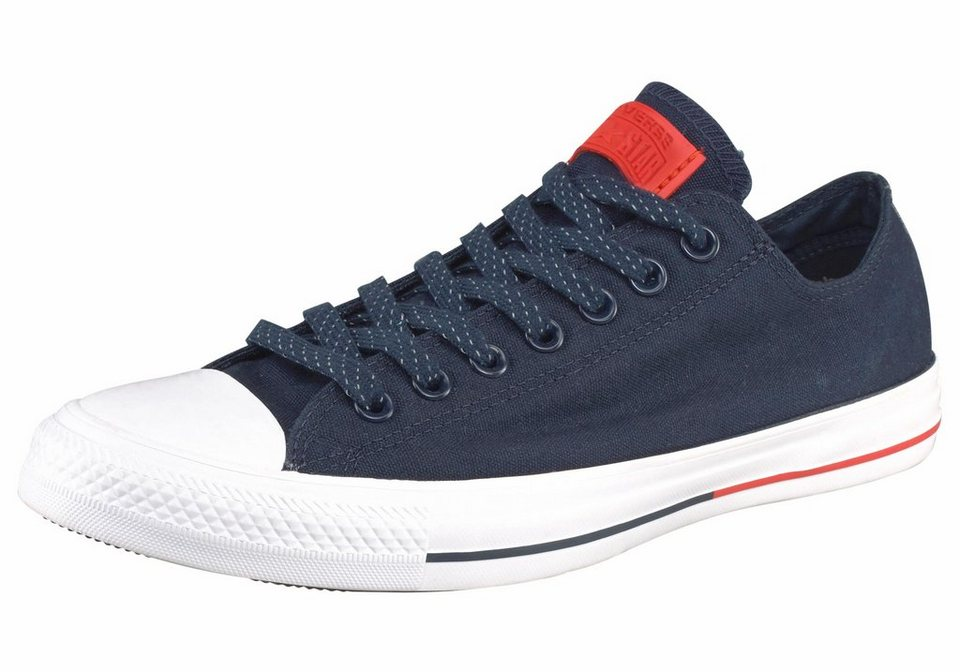 Converse »Chuck Taylor All Star Shield Canvas Ox« Sneaker in dunkelblau