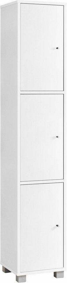 Schildmeyer Garderobenschrank »Beli« in weiß glanz