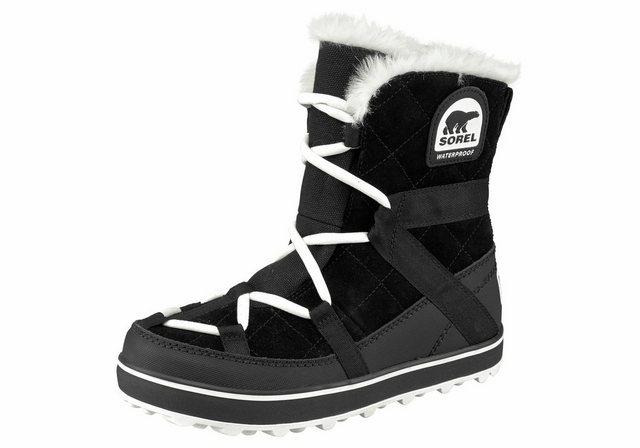 Sorel »Glacy Explorer Shortie« Outdoorwinterstiefel | Schuhe > Outdoorschuhe > Outdoorwinterstiefel | Sorel