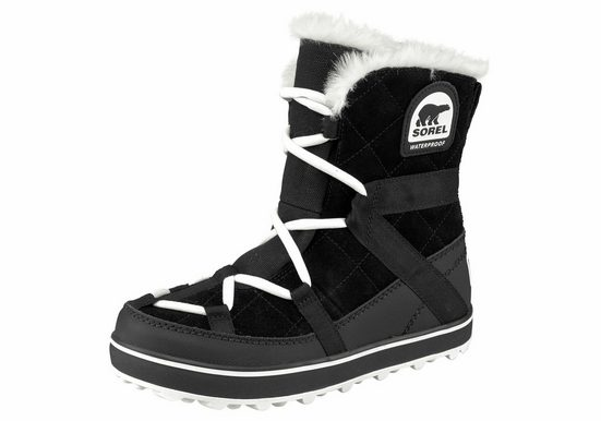 Sorel »Glacy Explorer Shortie« Outdoorwinterstiefel