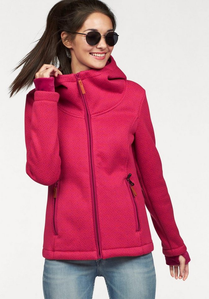Bench Outdoorjacke in pink