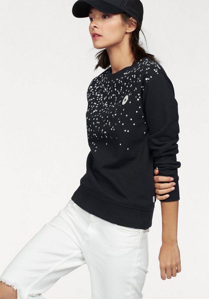 Converse Kapuzensweatshirt in schwarz