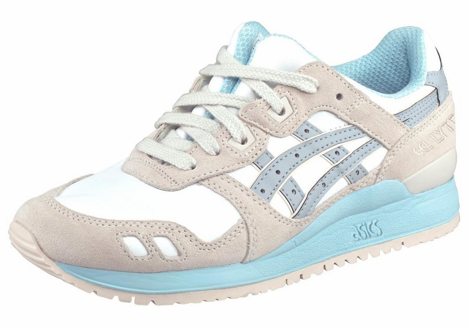 Asics »Gel Lyte III W« Sneaker Unisex in weiß-grau-hellblau