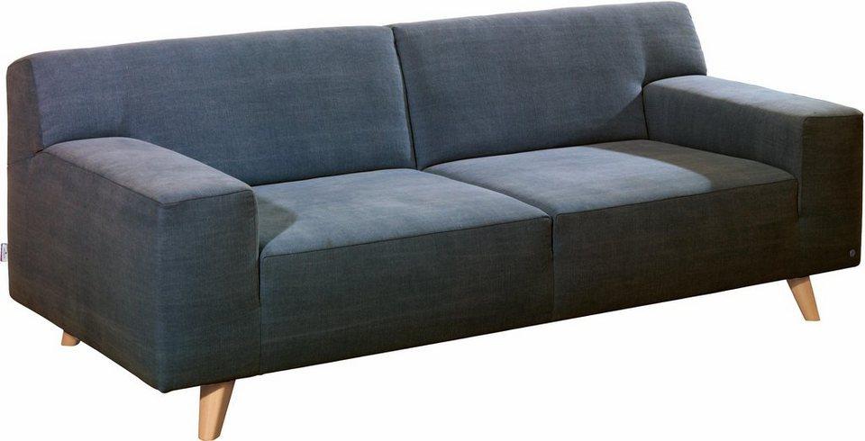 Tom tailor 2 sitzer sofa nordic pure im retrolook f e for Bequemes sofa