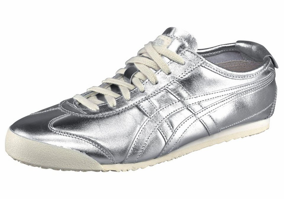 Onitsuka Tiger »Mexico 66« Sneaker in silberfarben