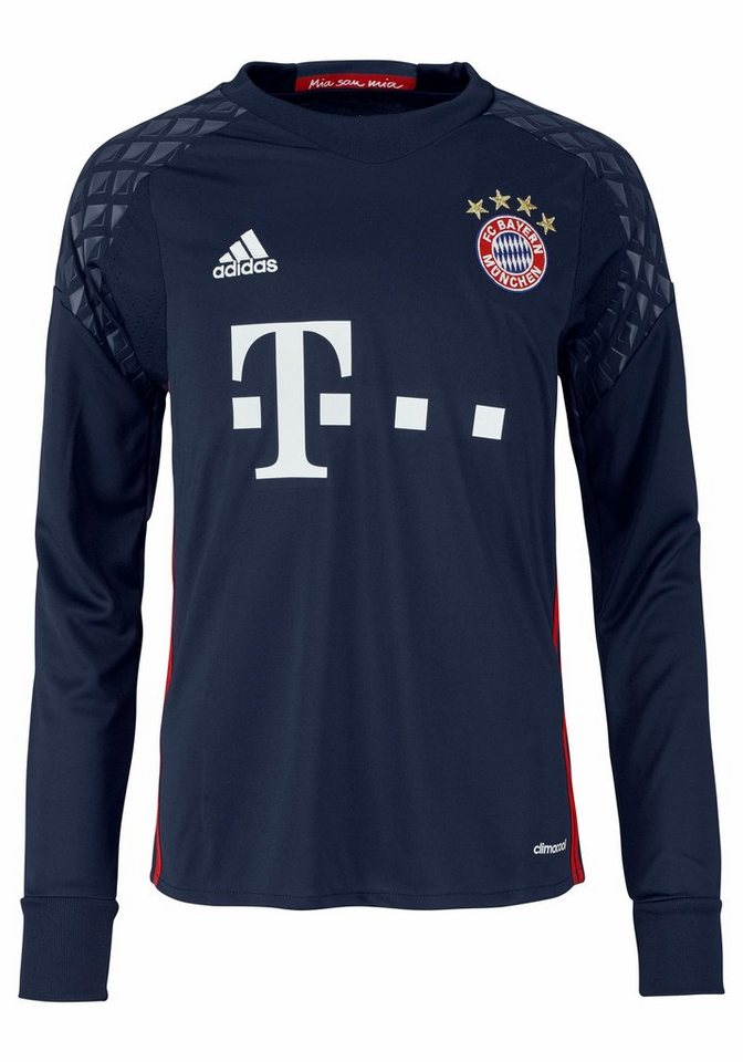 adidas Performance Torwarttrikot »FC BAYERN HOME GOAL KEEPER JERSEY YOUTH« in dunkelblau