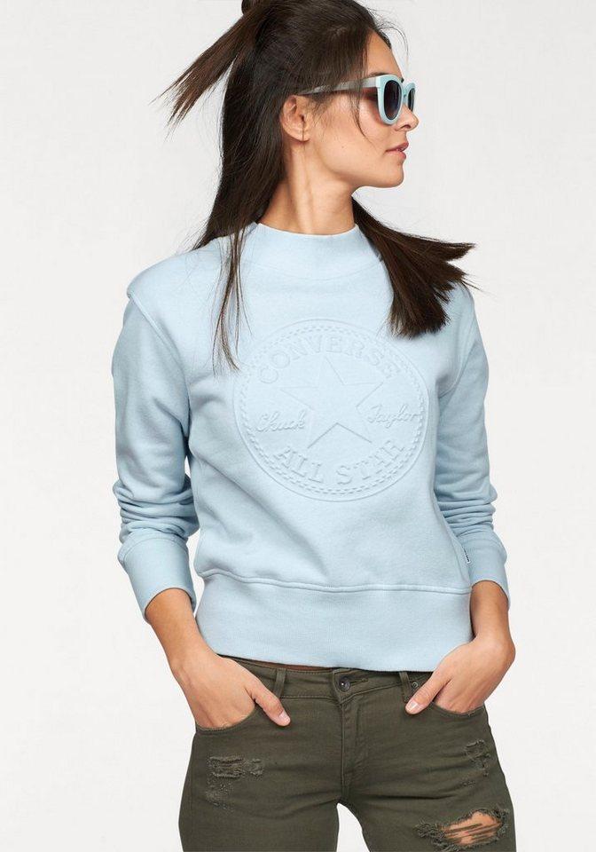 Converse Sweatshirt in hellblau