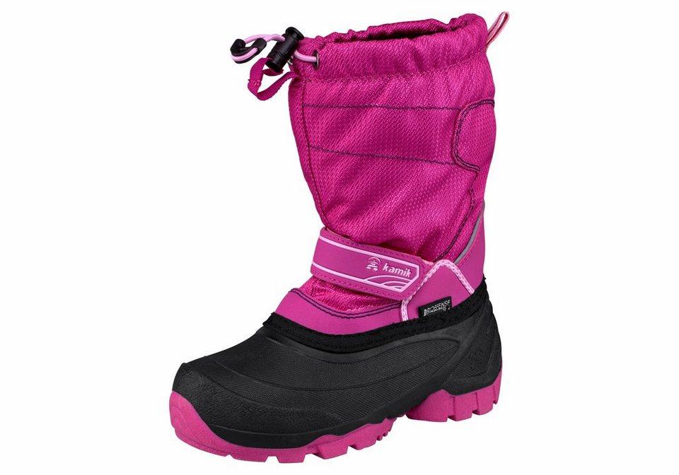 Kamik »Snowcoast« Outdoorwinterstiefel in pink