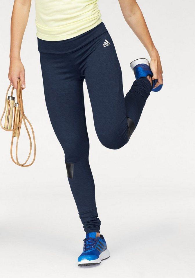 adidas Performance Funktionstights »WARMER TIGHT« in dunkelblau