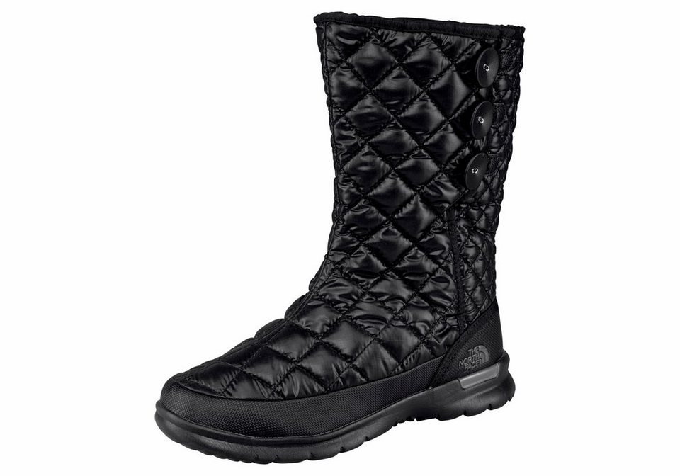 The North Face »Women's THERMOBALL BUTTON-UP« Outdoorwinterstiefel in schwarz
