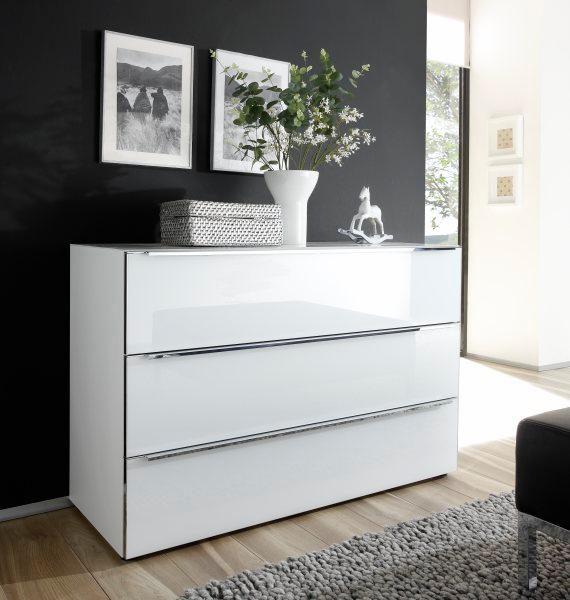 nolte® Möbel Kommode »Alegro Style«, Breite 160 cm Glasfronten