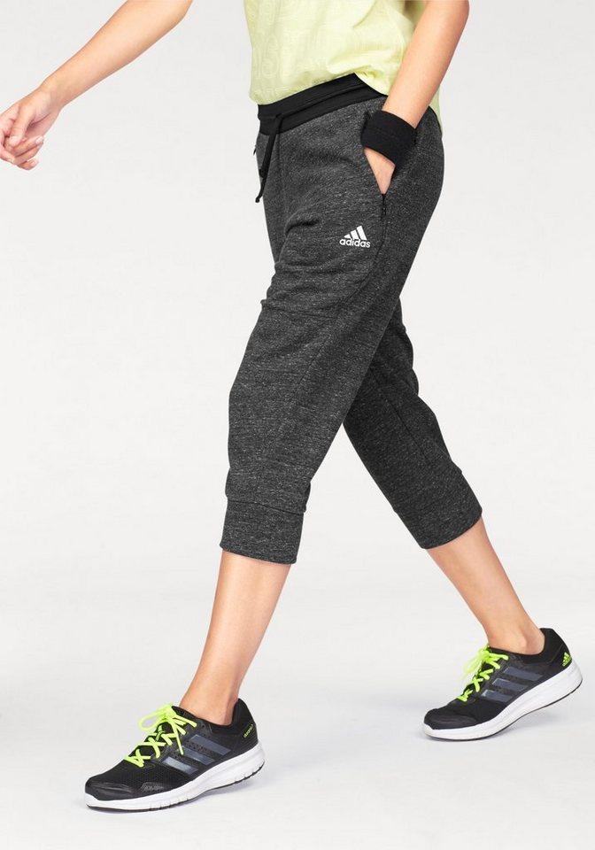 adidas performance 3 4 hose cotton fleece 3 4 pant mit rei verschlusstaschen online kaufen otto. Black Bedroom Furniture Sets. Home Design Ideas