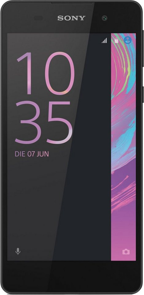 Sony Xperia E5 Smartphone, 12,7 cm (5 Zoll) Display, LTE (4G), Android 6.0 (Marshmallow) in schwarz