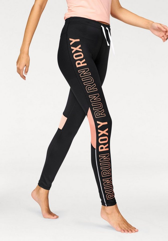 Roxy Funktionstights »STAY ON PANT« in schwarz-apricot