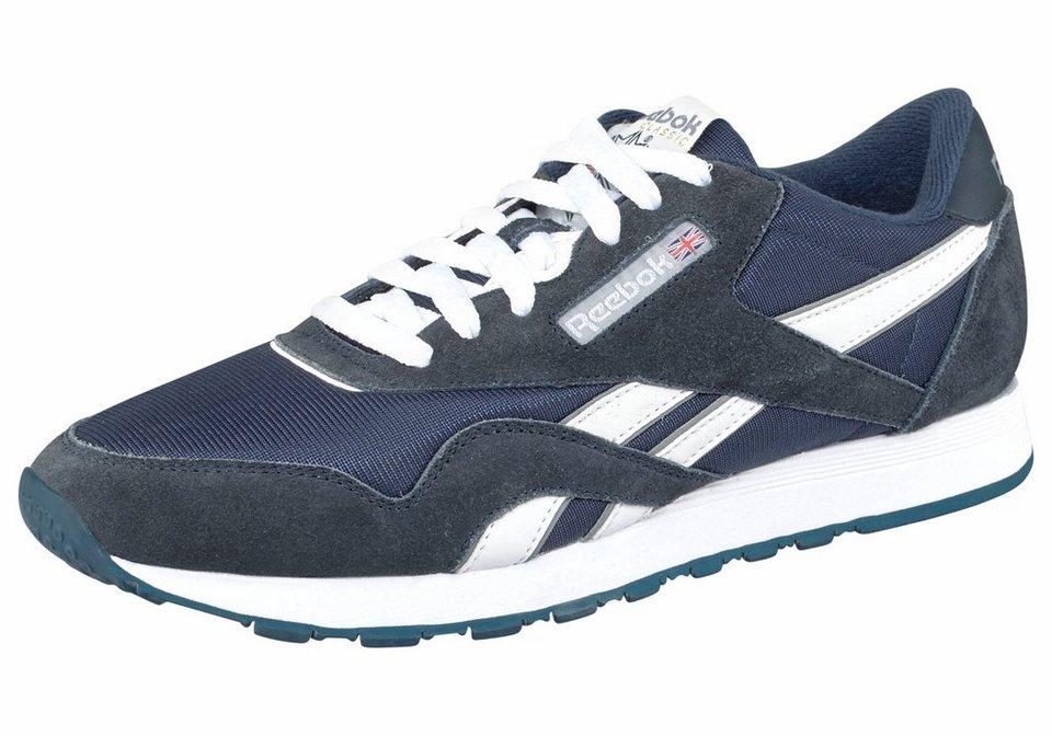 Reebok »Classic Nylon« Sneaker in marine-weiß