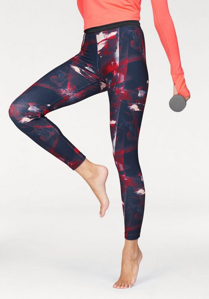 adidas performance leggings flower tight kaufen otto. Black Bedroom Furniture Sets. Home Design Ideas