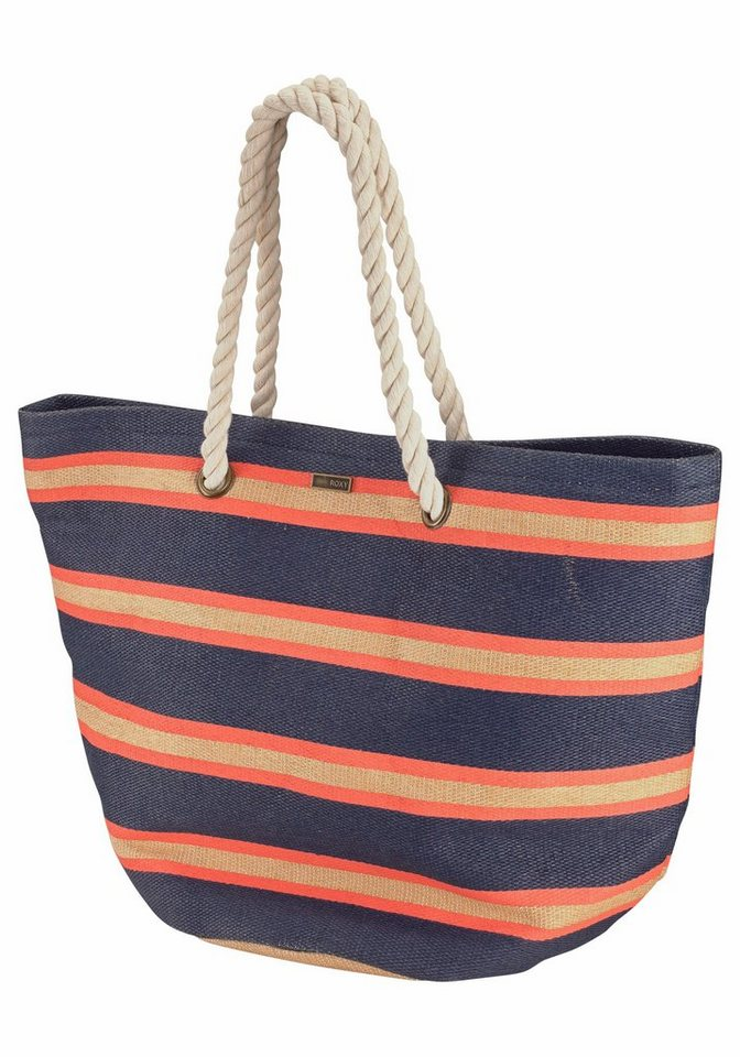 Roxy Strandtasche in marine-orange