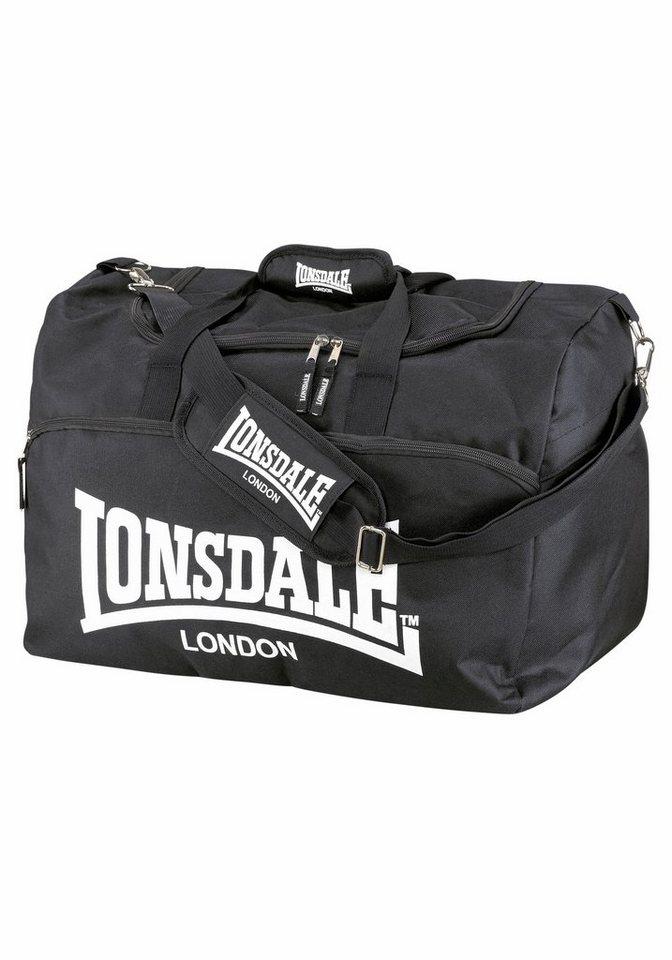 Lonsdale Sporttasche in schwarz