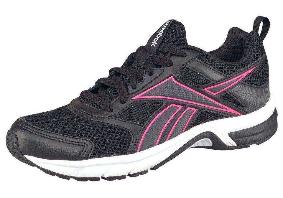 Reebok Laufschuh »Pheehan Run 4.0« in schwarz-pink