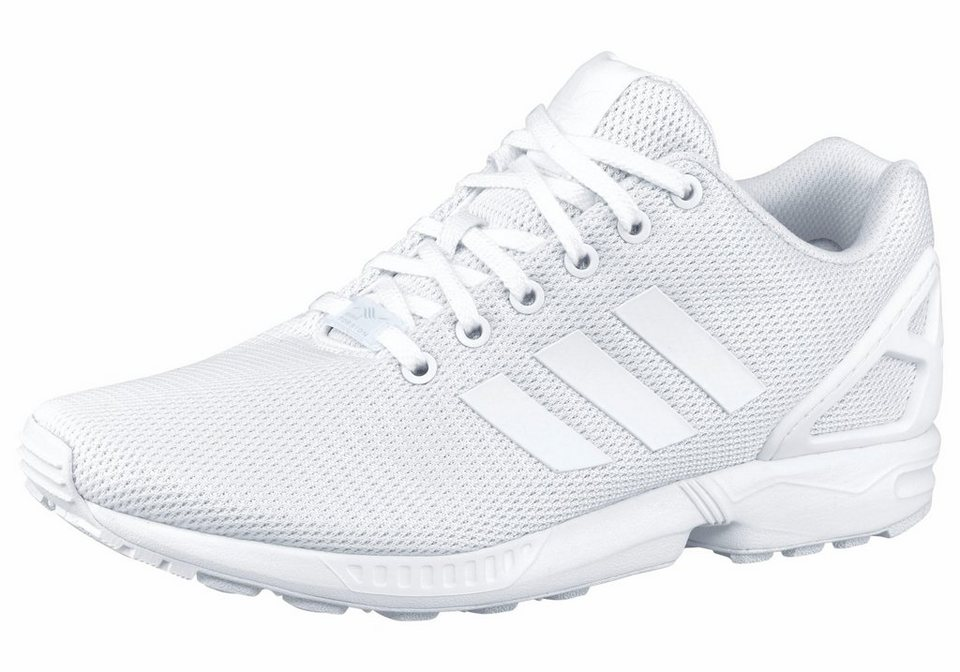 adidas Originals »ZX Flux« Sneaker in weiß-weiß