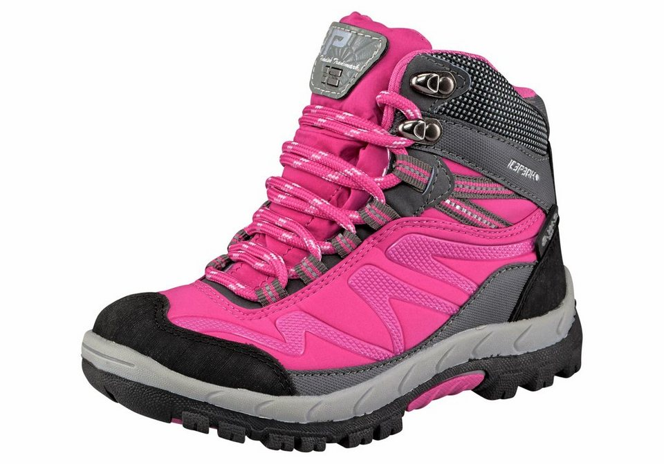 Icepeak »Wright Junior« Outdoorschuh in pink-schwarz