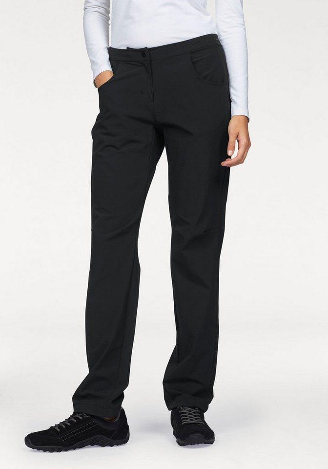 adidas Performance Trekkinghose für Damen - bi-elastisch in schwarz