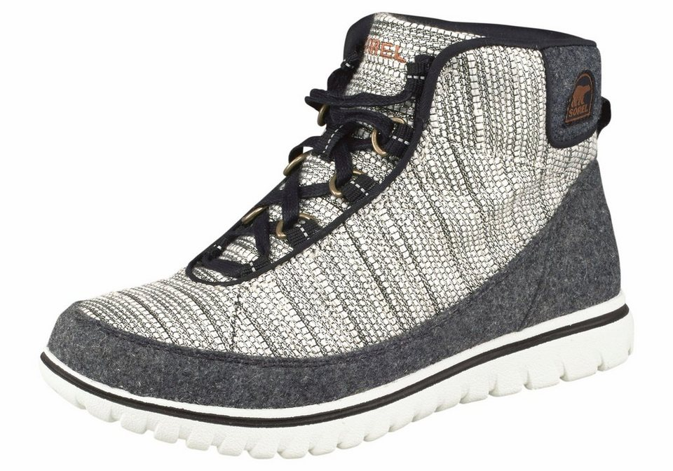 Sorel »Tivoli Go High« Outdoorschuh in weiß-grau