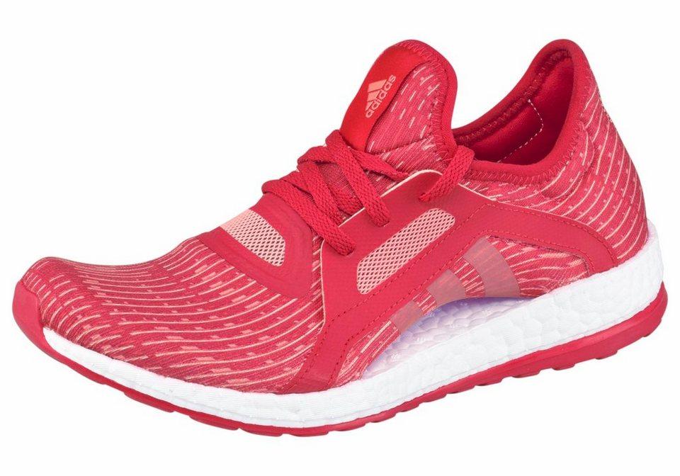 adidas Performance »Pureboost X« Laufschuh in rot
