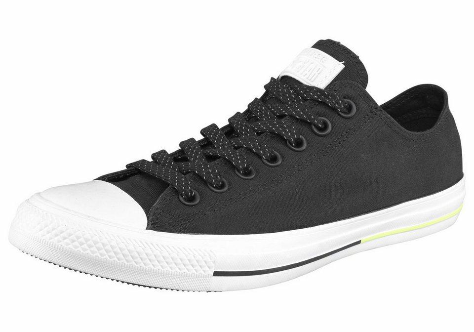Converse »Chuck Taylor All Star Shield Canvas Ox« Sneaker in schwarz