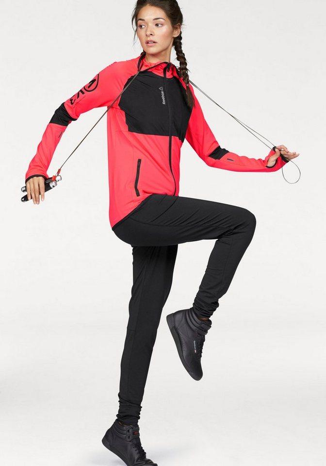 Reebok Trainingsanzug »ONESERIES TRACK SUIT« in schwarz-pink