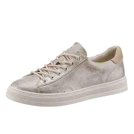 Esprit »Sidney Lace Up« Sneaker im schimmernden Look
