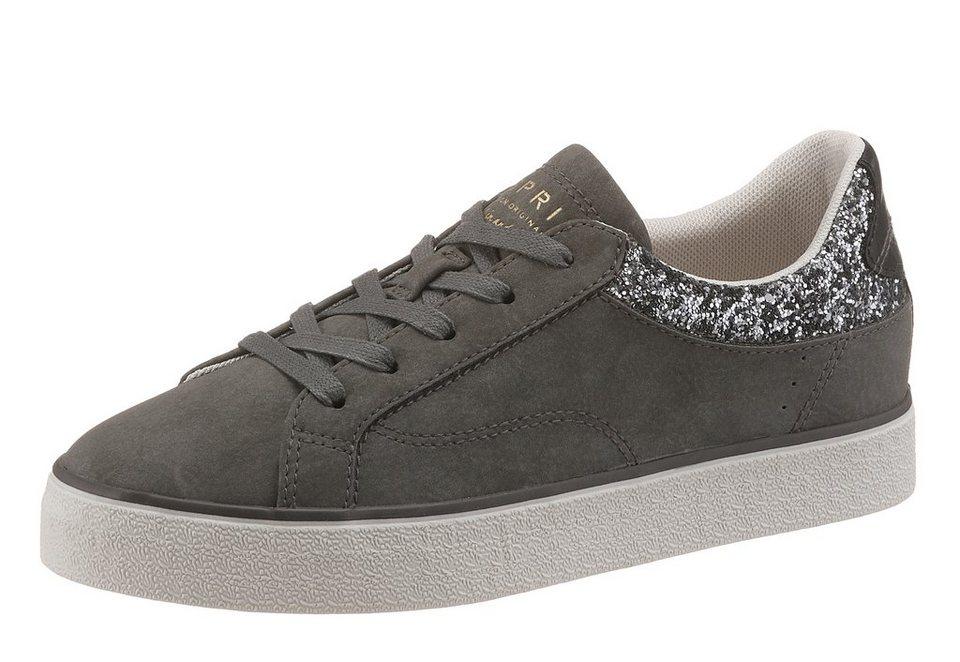 Esprit Sneaker mit funkelnden Details in grau