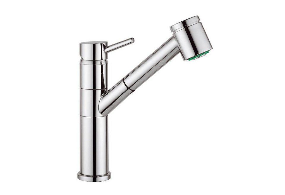 Spültischaramtur mit Geschirrbrause »Design« für Hochdruck in chrom