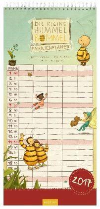 Kalender »Die kleine Hummel Bommel - Familienplaner 2017«