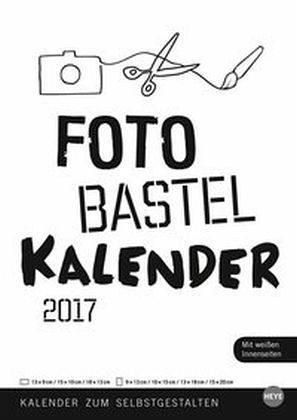 Kalender »Foto-Bastelkalender weiß A4 2017«