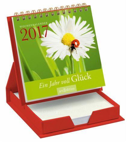 Kalender »Ein Jahr voll Glück 2017«