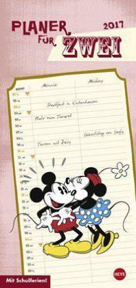 Kalender »Mickey Mouse & Minnie Planer für zwei 2017«