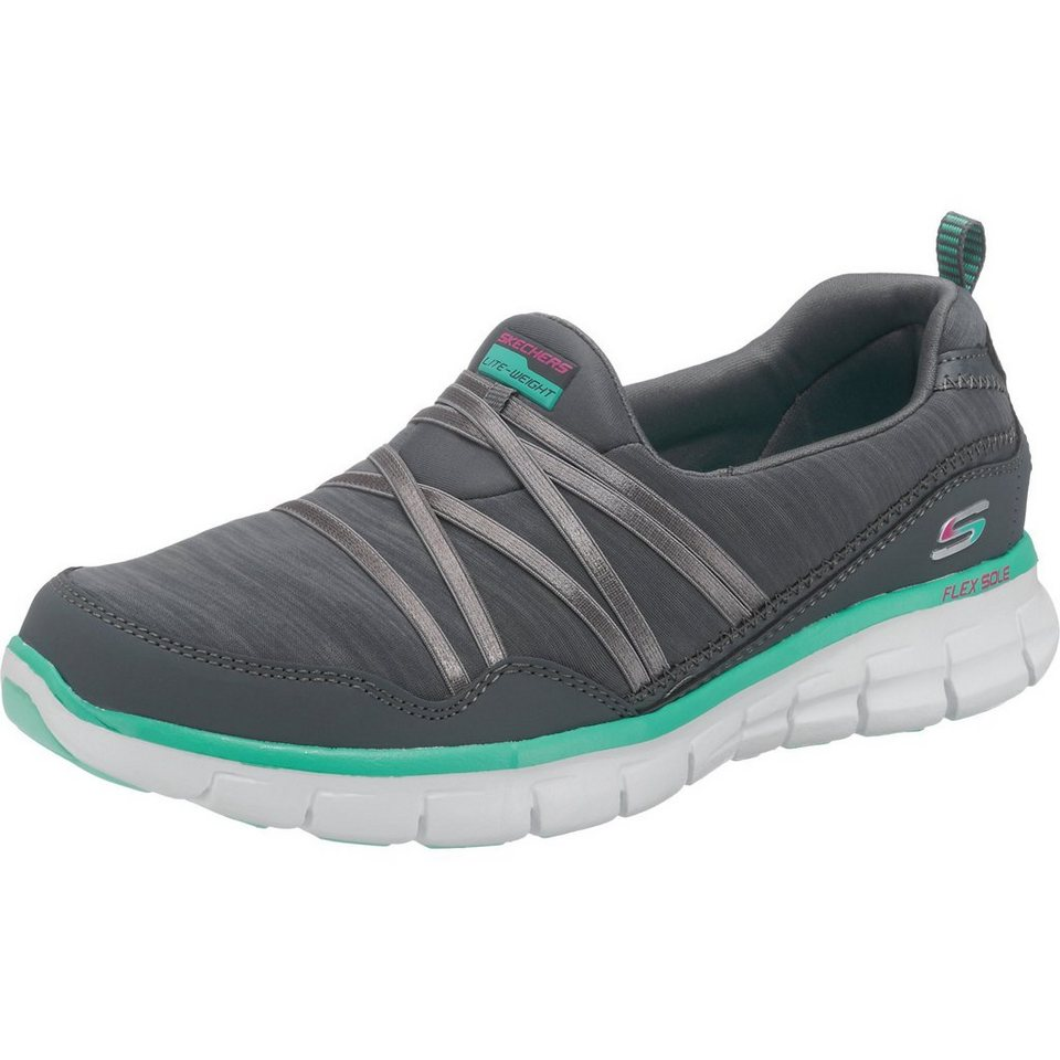 SKECHERS Synergy Scene Stealer Sneakers in dunkelgrau