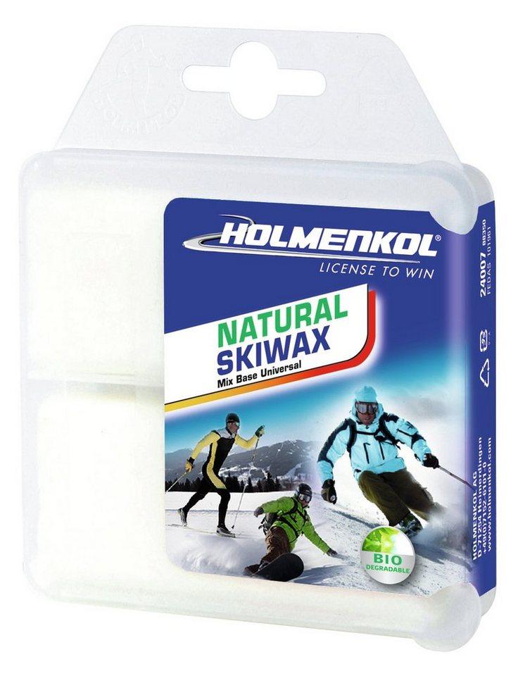 Holmenkol Skiwachs »Natural Skiwax 2x35 g« in weiß