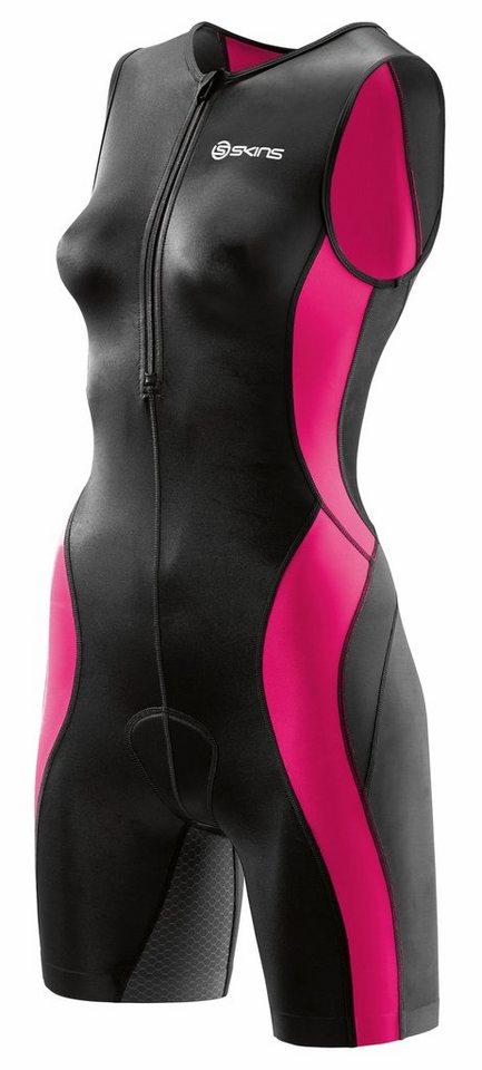 Skins Triathlonbekleidung »TRI400 Sleeveless Suit with Front Zip Women« in schwarz