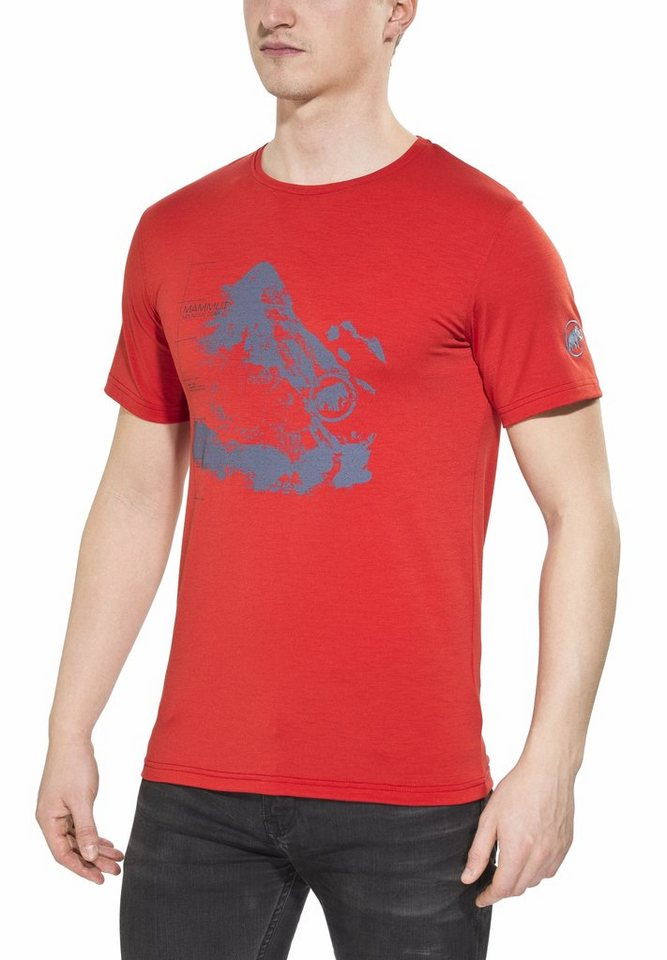 Mammut T-Shirt »Creon T-Shirt Men« in rot