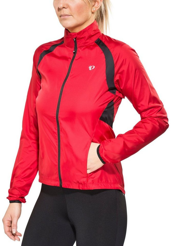 PEARL iZUMi Radjacke »ELITE Barrier Jacket Women crimson« in rot