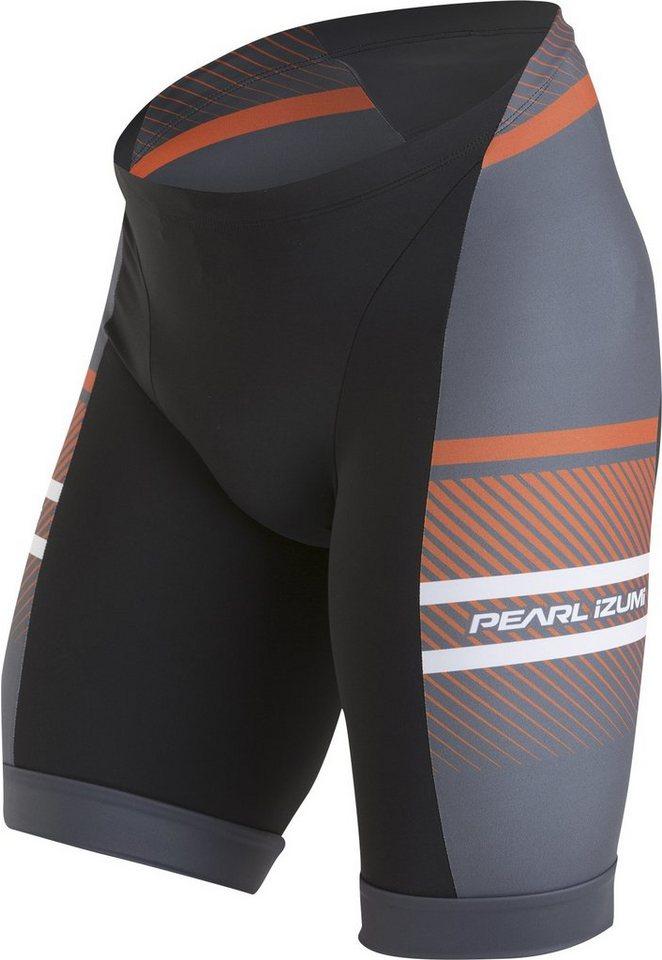 PEARL iZUMi Triathlonbekleidung »ELITE In-R-Cool LTD Tri Short Men stripes red« in schwarz