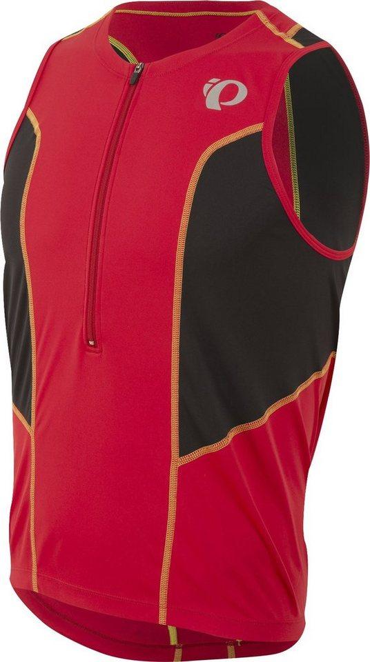 Pearl Izumi Triathlonbekleidung »SELECT Pursuit Tri SL Jersey Men true red/black« in rot