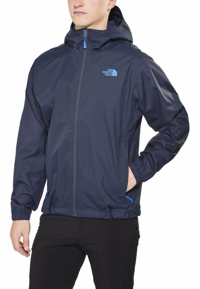 The North Face Regenjacke »Quest Jacket Men« in blau