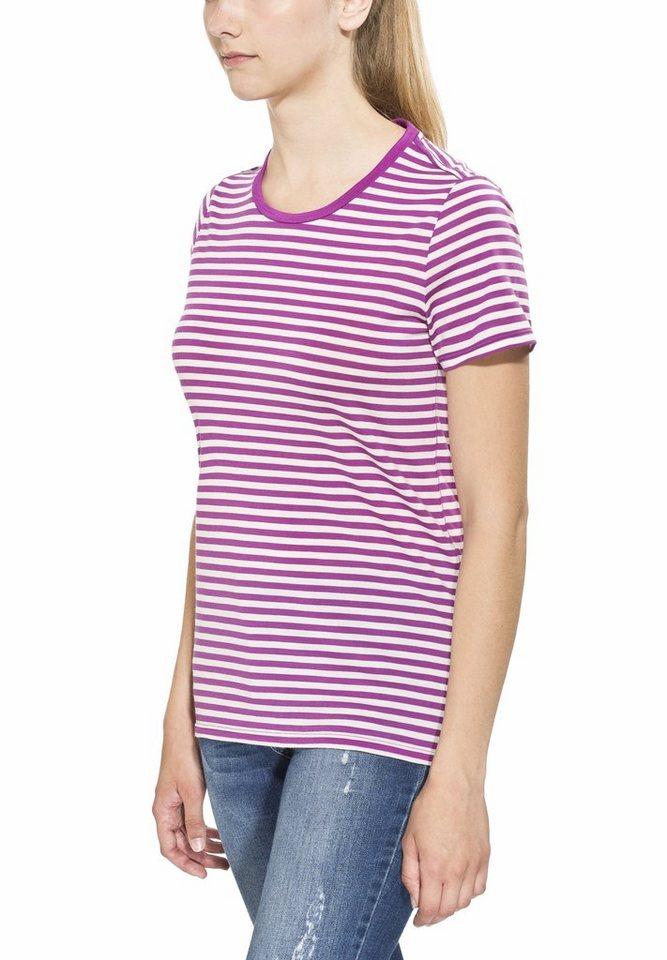 Icebreaker T-Shirt »Tech Lite SS Crewe Stripe Women« in lila
