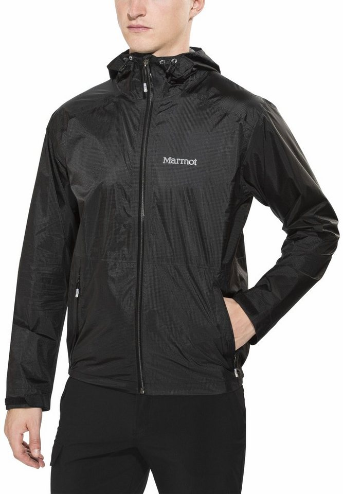 Marmot Regenjacke »Mica Jacket Men« in schwarz