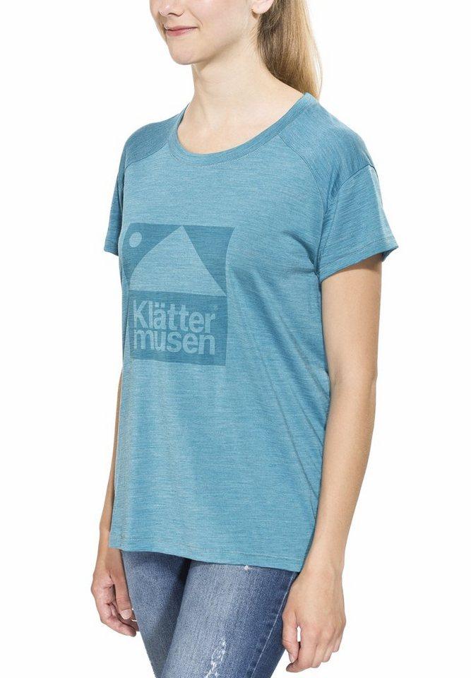 Klättermusen T-Shirt »Eir Tee Women« in türkis